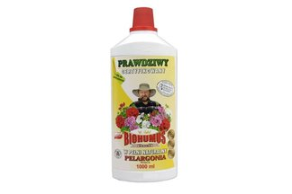 Biohumus Extra Pelargonia 1 l – płynny nawóz naturalny