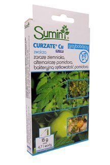 Curzate CU 49,5 WP 15 g – środek grzybobójczy (fungicyd) do ochrony roślin rolniczych i warzywnych