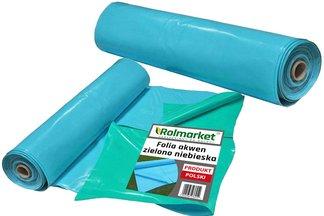 Folia do oczek wodnych, stawów i basenów Akwen 500, zielono-niebieska 6x11m