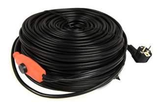Kabel grzewczy 49m z energooszczędnym termostatem 830 W