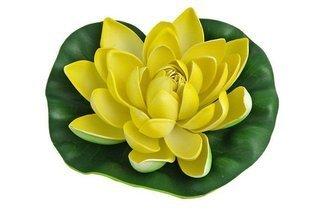 Lilia wodna, średnica 19cm żółta GW7232