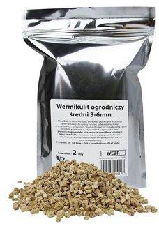 Wermikulit - utrzymujący wilgoć dodatek do podłoża w hodowli roślin 2l