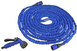 Zestaw ogrodowy TRICK HOSE niebieski o długości 7,5 - 22 m Bradas