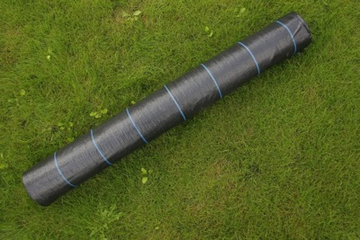 Agrotkanina czarna 1,6x50m (90g)