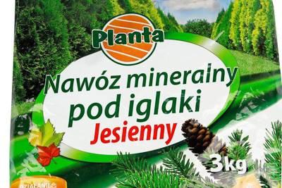 Nawóz mineralny pod iglaki jesienny 3kg PLANTA