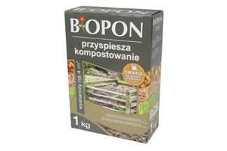 Biopon Komposter 1kg - przyspiesza kompostowanie