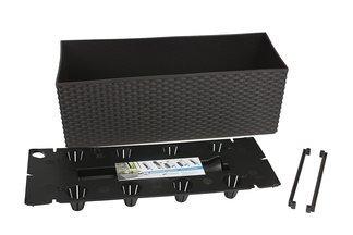 Doniczka dekoracyjna Rato DRTC500 Case z systemem nawadniającym, 51cm, umbra