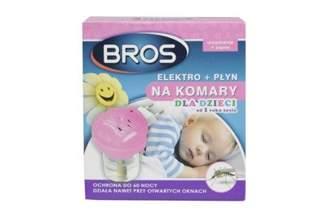 Elektro + płyn 40 ml na komary dla dzieci od 1 roku życia Bros