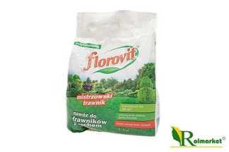 Florovit  nawóz z żelazem do trawników 1kg worek