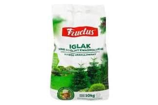 Fructus Iglak – bezchlorkowy nawóz granulowany do iglaków 10kg