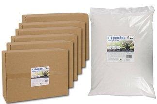 Hydrożel ogrodniczy - utrzymujący wodę dodatek do roślin, kwiatów i trawników 30kg