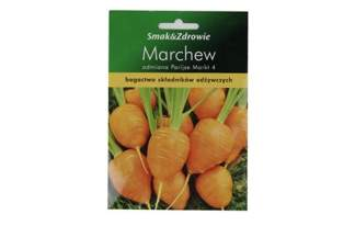 Marchew wczesna (80-90 dni) odmiana Pariser Markt 4 Smak&Zdrowie