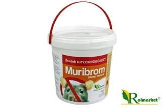 Muribrom trutka zbożowa 250 g - trutka na myszy, szczury i nornice