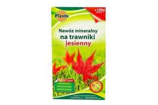 Nawóz mineralny na trawniki jesienny o ulepszonej formule Planta 1kg