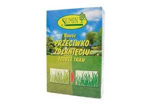 Nawóz przeciw żółknięciu źdźbeł traw Sumin 1 kg