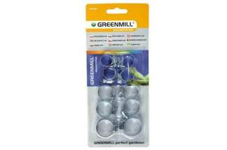 Opaski zaciskowe 10szt do węży 1/2', 5/8', 3/4' GB1202C Greenmill