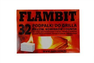 Podpałka biała Flambit 32 kostki