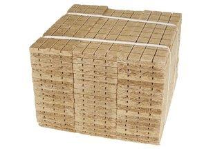 Podpałka szara 2400 kostek (60szt tabliczek po 40 kostek)
