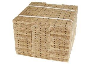 Podpałka szara 4800 kostek (2 opakowania po 2400 kostek)