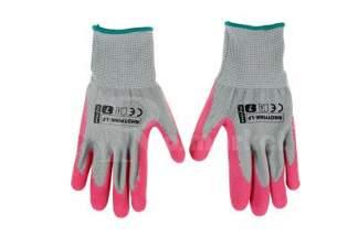 Rękawice ochronne, ogrodowe dla kobiet Rhotpink-Lf - rozmiar 7 (3 pary)