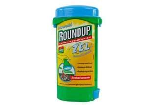 Roundup Żel 140 ml – środek chwastobójczy w żelu do zwalczania chwastów jednoliściennych i dwuliściennych
