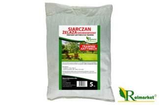 Siarczan żelaza (II) siedmiowodny 5 kg – nawóz antymech do trawnika