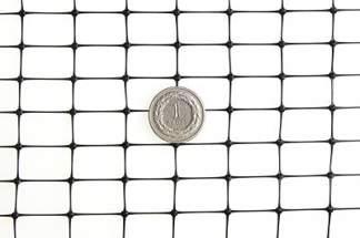 Siatka przeciw kretom, na krety, oczko 13x20mm – 2x30 m czarna