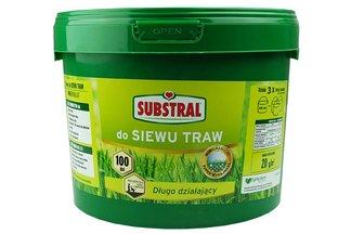 Substral 100 dni - długo działający nawóz do siewu trawy 10kg