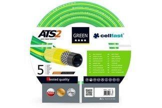 """Wąż ogrodowy nie skręcający się Green ATS2 1/2"""" 25m 15-100 Cellfast + zestaw do podlewania Gratis !"""