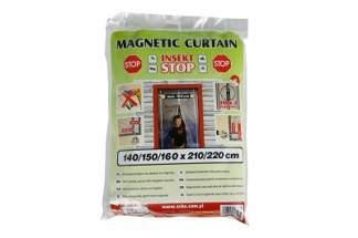 Zasłona magnetyczna moskitiera na owady 160x210/220 cm biała INSEKT STOP