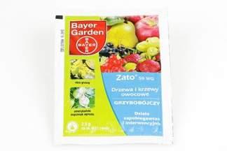 Zato 50 WG 2,5g Bayer – środek grzybobójczy do ochrony roślin sadowniczych i warzywnych