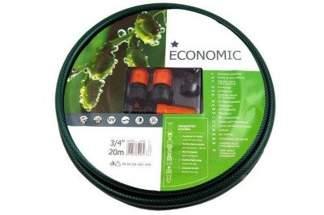 Zestaw wąż ogrodowy Economic  3/4 20m + złączki