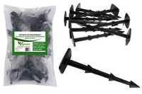 Kołki plastikowe do mocowania agrotkaniny, agrowłókniny i geowłókniny 12cm MIDI (1000 szt.)