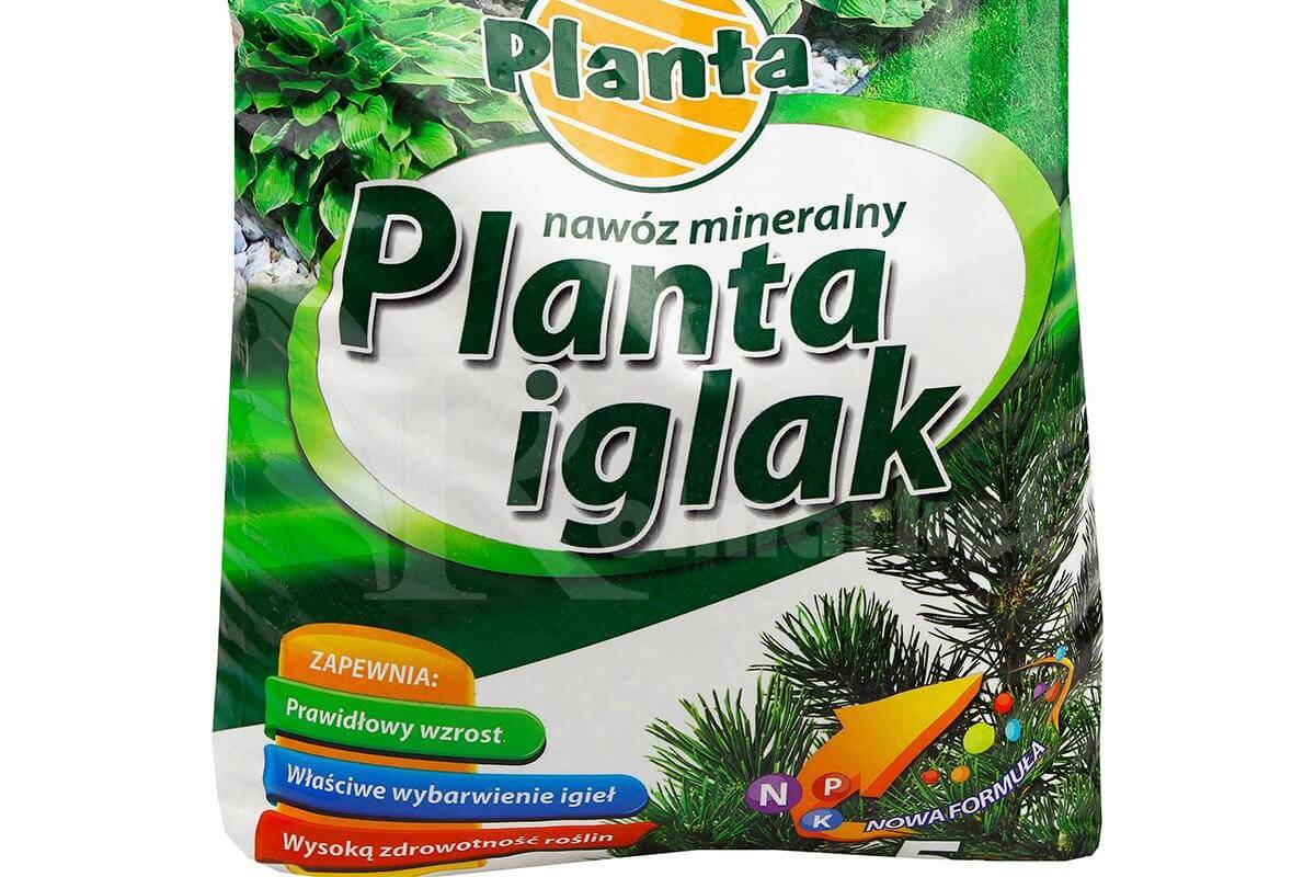 Znalezione obrazy dla zapytania planta nawóz pod iglaki 5 kg