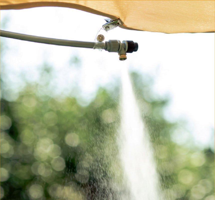 Ogrodowa Mgiełka Wodna 15m Skuteczny Sposób Na Obniżenie