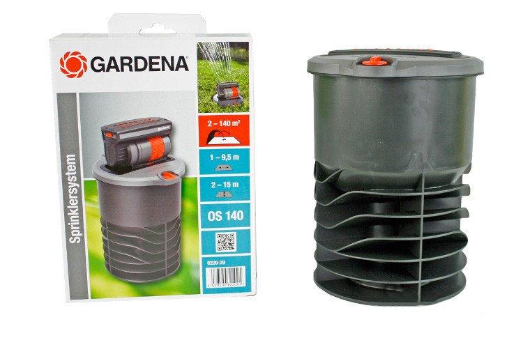 zraszacz wynurzalny wahad owy os 140 gardena 8220. Black Bedroom Furniture Sets. Home Design Ideas