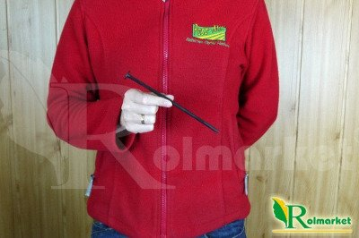 Długie szpilki plastikowe 19cm (100 szt) + podkładki dociskające (100 szt)