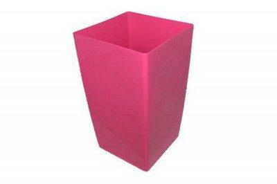 Doniczka (donica) Coubi DUW 290  z wkładem wewnętrznym - różowa