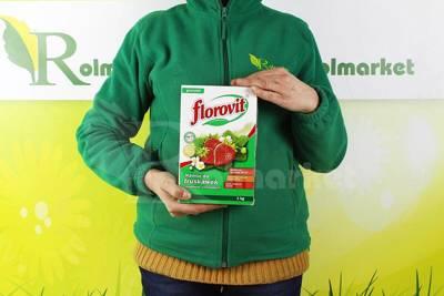 Florovit nawóz do truskawek i krzewów owocowych 1kg karton