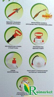 Opryskiwacz ciśnieniowy SPRAYER 6 litrów