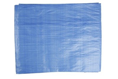 Plandeka okryciowa niebieska 20x20m 65g