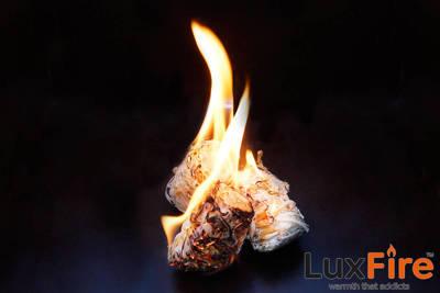 Podpałka długopaląca z wełny drzewnej LUX FIRE 5 kg + zapalarka GRATIS