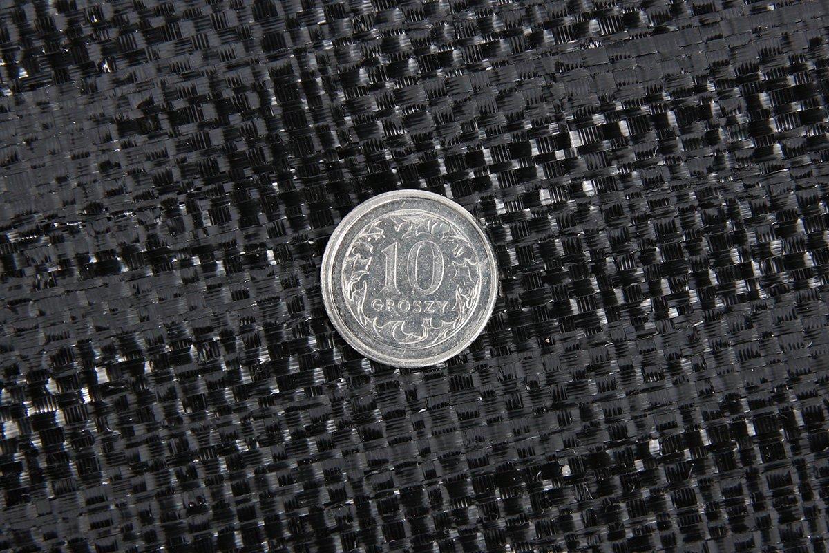 Polska agrotkanina czarna 1,6x50m (94g)