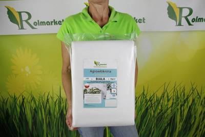 Polska agrowłóknina zimowa biała 1,6x20m (50g)