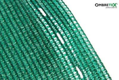 Siatka cieniująca, osłonowa Ombretex na ogrodzenia 1,7x30m 95%