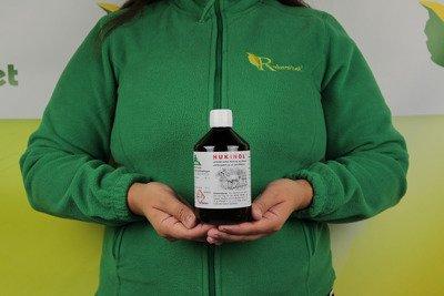 Skuteczny zapachowy odstraszacz na dziki i zwierzynę płową Hukinol 0,5l - zestaw 2 sztuk