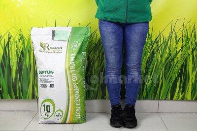 Trawa Deptum 100 kg – mieszanka traw na tereny intensywnie użytkowane - sportowa, wolnorosnąca