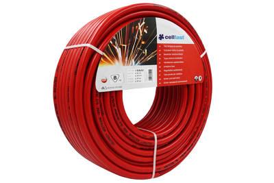 Wąż spawalniczy do acetylenu 9,0x3,0mm 50m