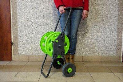 """Wózek na wąż ogrodowy 1/2"""" 45m Lime Edition"""