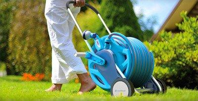 """Wózek na wąż ogrodowy - odporny na korozję 1/2"""" 60 m Discover Cellfast"""